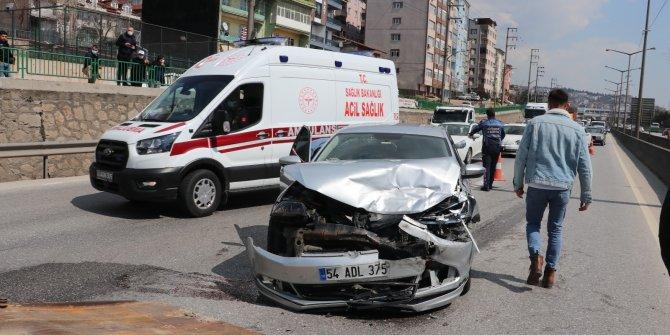Kazayı izlerken kaza yaptılar: 4 yaralı