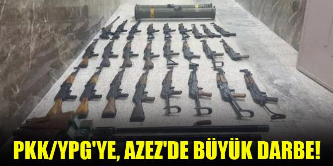 PKKYPG'ye, Azez'de büyük darbe!