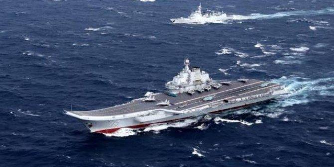 Çin'e ait gemiler Japonya kara sularına girdi