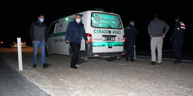 Konya'da otomobilin çarptığı yaya yaşamını yitirdi
