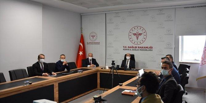 Konya'da Pandemi Değerlendirme Toplantısı yapıldı