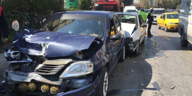 Zincirleme trafik kazası; 4 yaralı