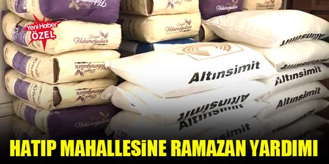 Hatıp Mahallesine Ramazan yardımı