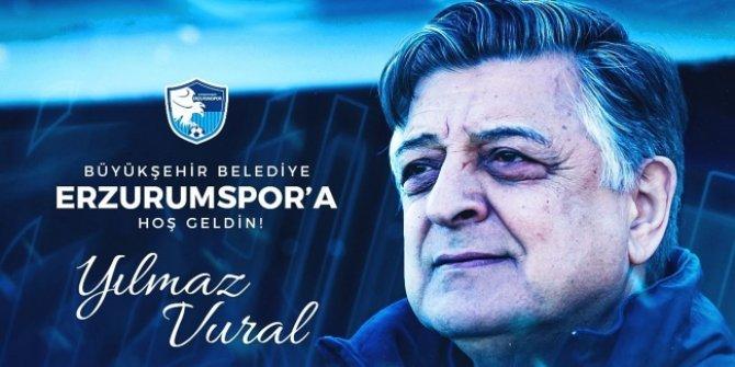 Erzurumspor'da Yılmaz Vural dönemi