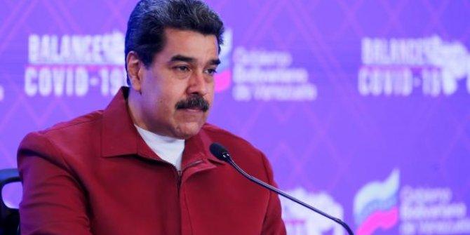 """Venezuela Devlet Başkanı Maduro'dan """"aşıya karşılık petrol"""" önerisi"""