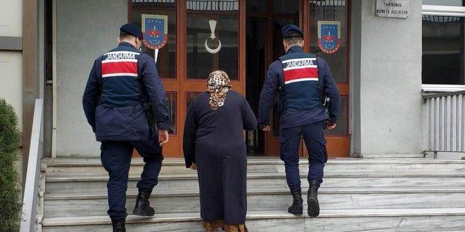 Kredi kartı yüzünden hapis cezası bulunan kadın, JASAT ekiplerince yakalandı