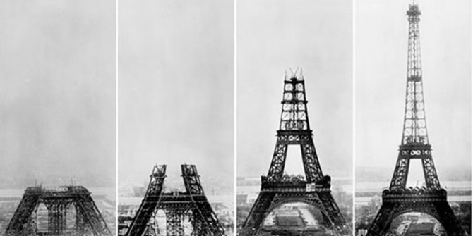 The Eiffel Tower opened 232 years ago
