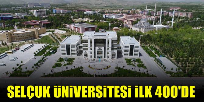Selçuk Üniversitesi 50 yaş altı genç üniversiteler arasında dünyada ilk 400'de