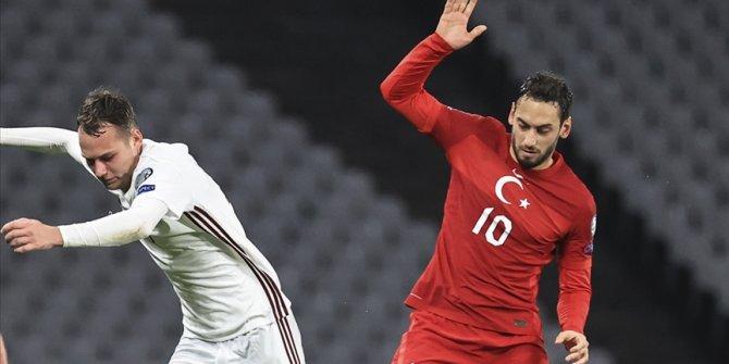 Hakan Çalhanoğlu: Hedefimize ulaşmak için çalışmaya devam edeceğiz