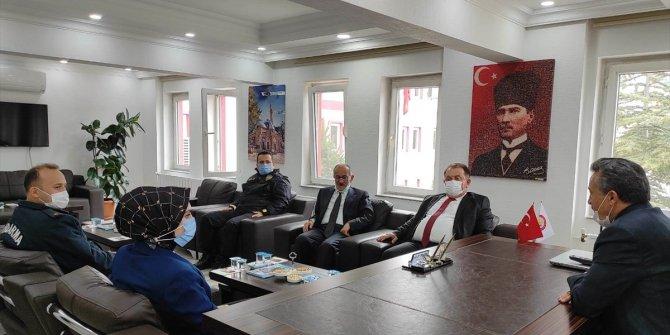 Beyşehir protokolü, Seydişehir Belediye Başkanı Tutal'ı ziyaret etti