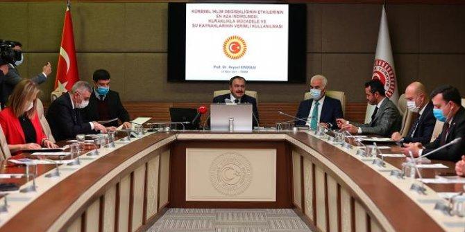 Küresel İklim Değişikliği Araştırma Komisyonu ilk toplantısını yaptı