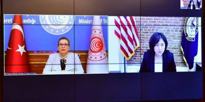 ABD ile Türkiye arasında ticareti artırma adımları