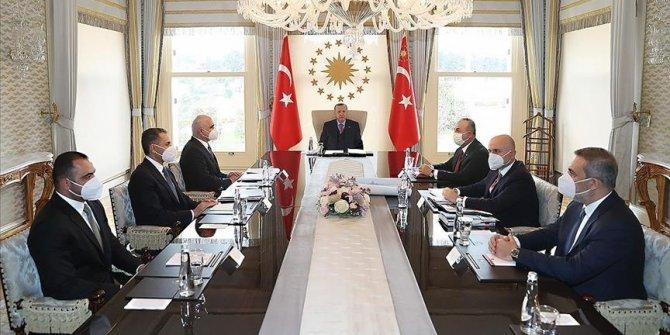 Turkish president receives Azerbaijani deputy premier