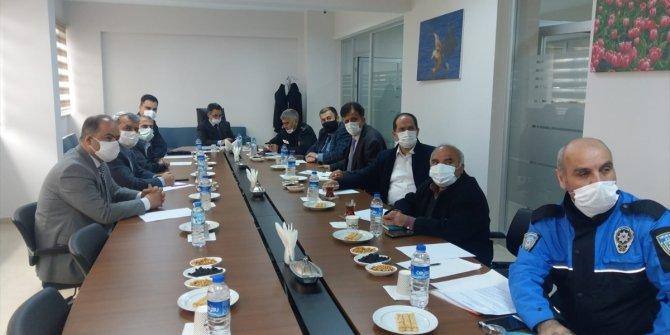 Seydişehir'de güvenlik toplantısı yapıldı