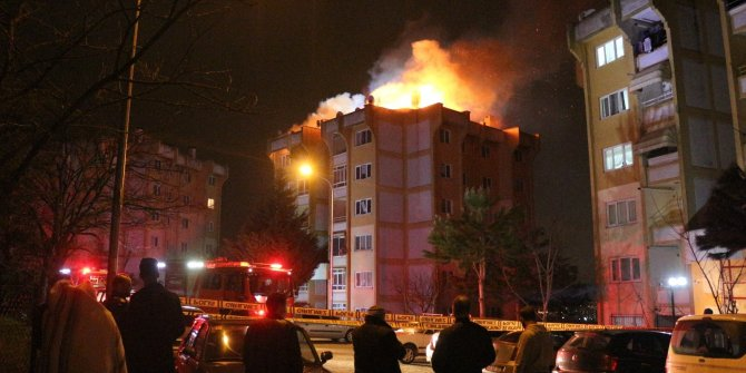 Anne babası ile tartışınca evi ateşe veren şahıs gözaltına alındı