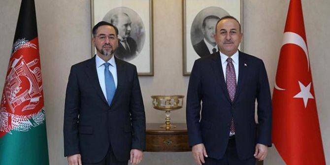 Çavuşoğlu, Afganistan'ın eski Dışişleri Bakanı Rabbani ile görüştü