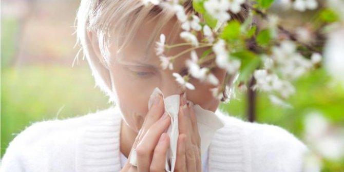Polen alerjisi astıma neden olabiliyor