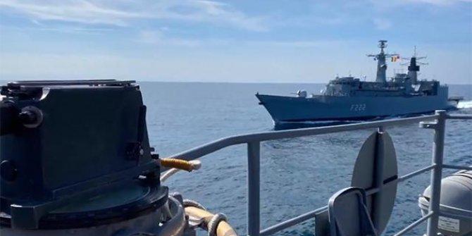 Sea Shield-21 Davet Tatbikatı, Batı Karadeniz'de yapıldı