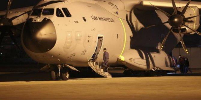 Arakanlı Müslümanlara yardım taşıyan uçak Ankara'dan havalandı