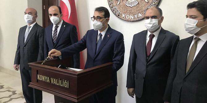 Enerji ve Tabii Kaynaklar Bakanı Fatih Dönmez Konya'da