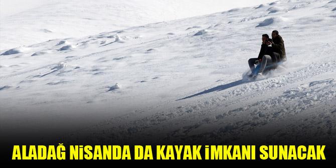 Aladağ nisanda da kayak imkanı sunacak