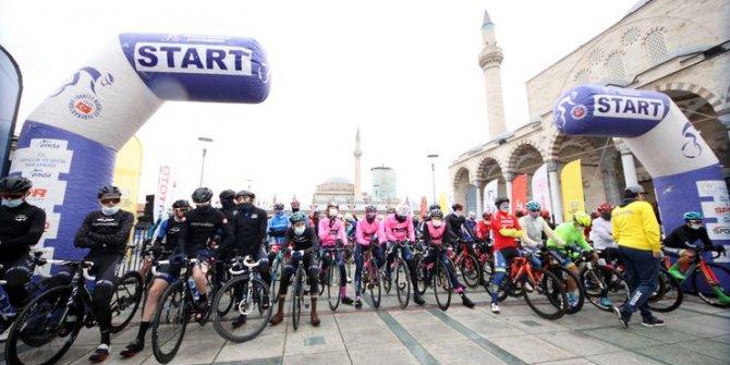26. Uluslararası Mevlana Bisiklet Turu'nun ikinci etabı tamamlandı