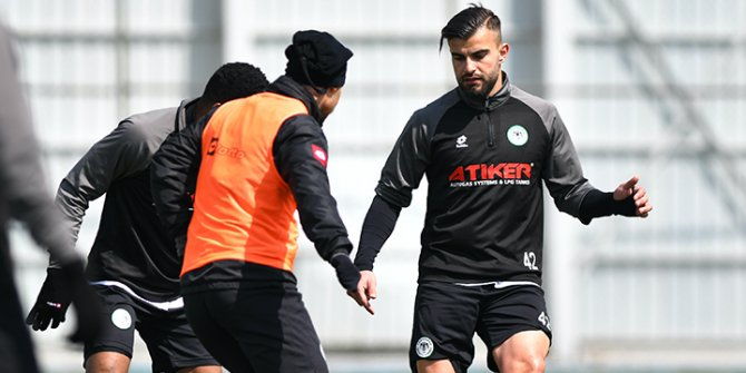 Konyaspor'dan taktik antrenman