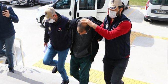 Büst saldırganı tutuklandı