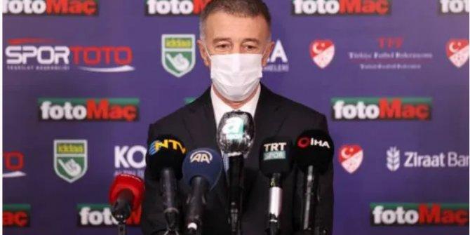 Ahmet Ağaoğlu: İki kupa aldık, 'teneke kupa' muamelesi yapıldı