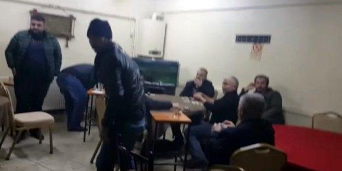 Kıraathaneye polis baskını: 9 kişiye 56 bin 250 TL ceza