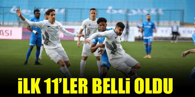 Konyaspor - Erzurumspor | İLK 11'LER BELLİ OLDU!