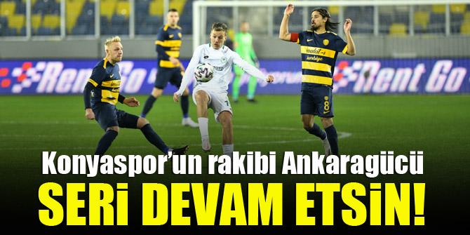 Konyaspor'un rakibi Ankaragücü