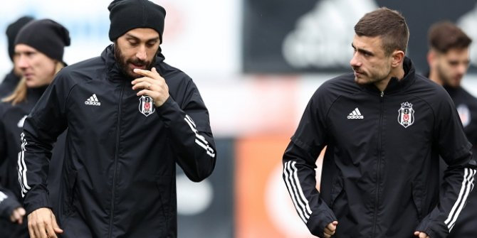 Beşiktaş'a iki oyuncudan iyi haber
