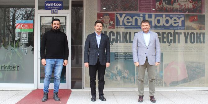 Selman Özboyacı'dan Yeni Haber'e ziyaret