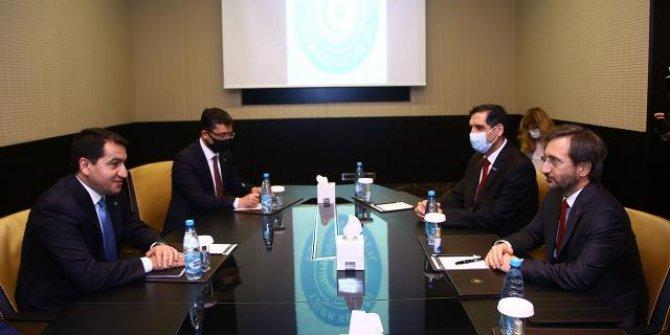 İletişim Başkanı Altun Azerbaycan'da