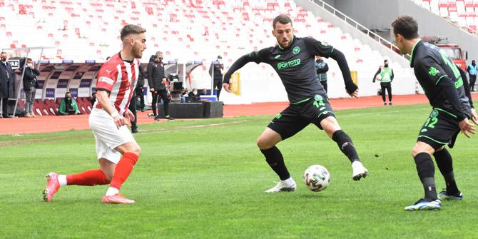 Konyaspor'da Bytyqi ilk golünü attı