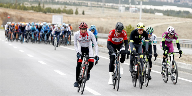 56. Cumhurbaşkanlığı Türkiye Bisiklet Turu'nda ikinci etap heyecanı
