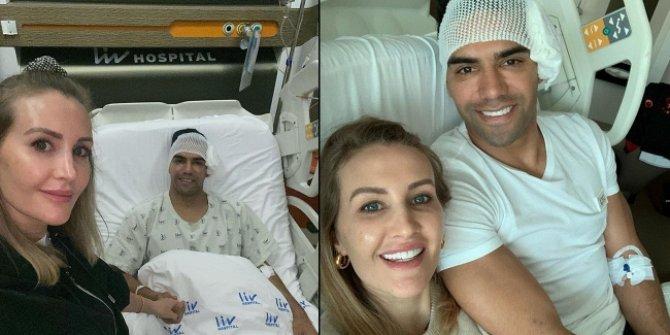 Radamel Falcao ameliyat edildi