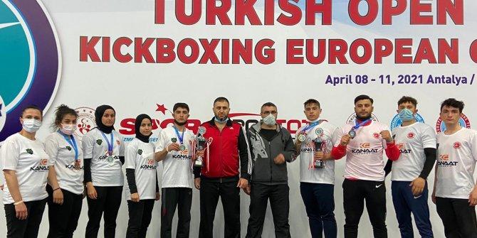 Meram Belediyespor Kıck Boks Avrupa Kupası'na damga vurgu