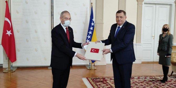 Predsjedavajući Predsjedništva BiH Dodik primio akreditivno pismo turskog ambasadora Girgina
