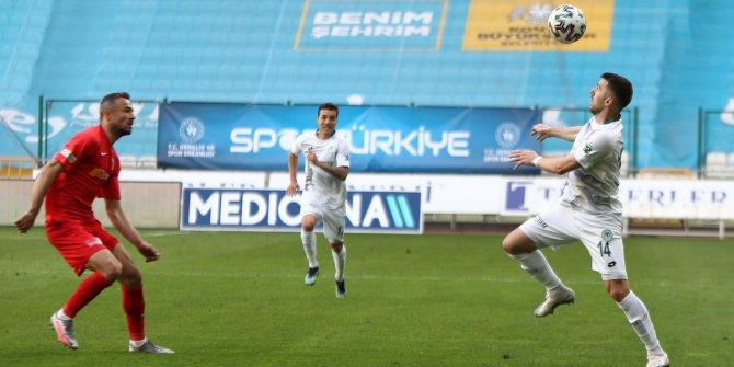 Konyaspor'da şut çok gol yok!