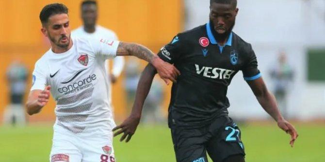 Trabzonspor - Hatayspor! Muhtemel 11'ler
