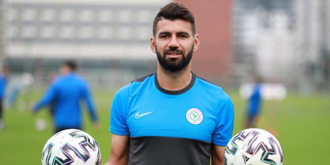 Selim Ay: Konyaspor sayesinde Süper Lig'deyim