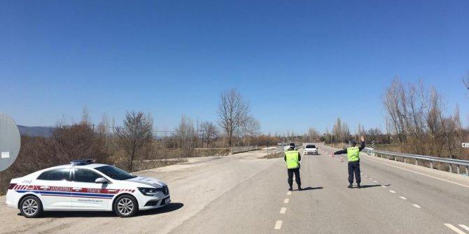 Jandarmadan 71 araç sürücüsüne 41 bin 216 TL ceza