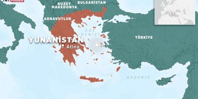 Yunanistan'da 3,5 büyüklüğünde deprem