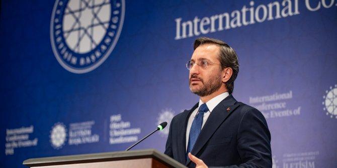 Fahrettin Altun: Siyasi hesaplardan beslenen bir iftiradır!