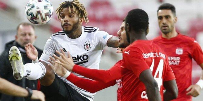 Beşiktaş, Sivasspor'u geçemedi