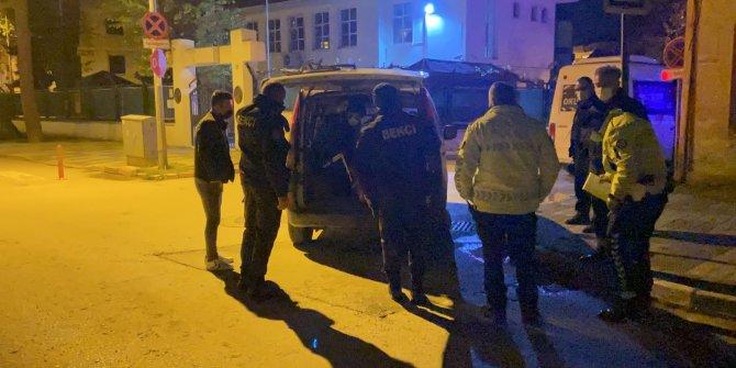 Bekçiler yakaladı, hırsızlıktan arandığı ortaya çıktı