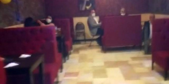 Eğlence mekanına polis baskını: 14 kişiye 51 bin 296 lira ceza