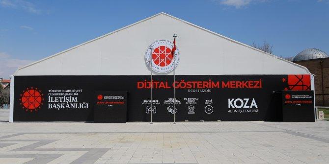Dijital Gösterim Merkezi'nde  23 Nisan coşkusu yaşatılıyor